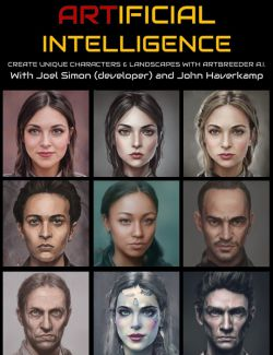 Artbreeder: Generating new Characters with Artificial Intelligence