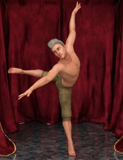 Modern Dancer Poses For Genesis 8 Male