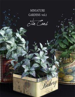 DGV Miniature Gardens Vol.2 TinCans