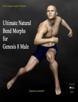 Ultimate Natural Bend Morphs for Genesis 8 Male