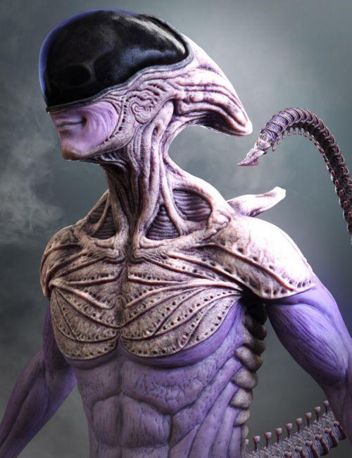 Mysterious Alien HD for Genesis 8 Male