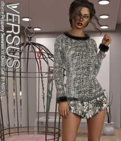 VERSUS- dforce Peppery Sweater n Dress G8F