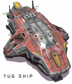 Tug Ship FBX  Extended License