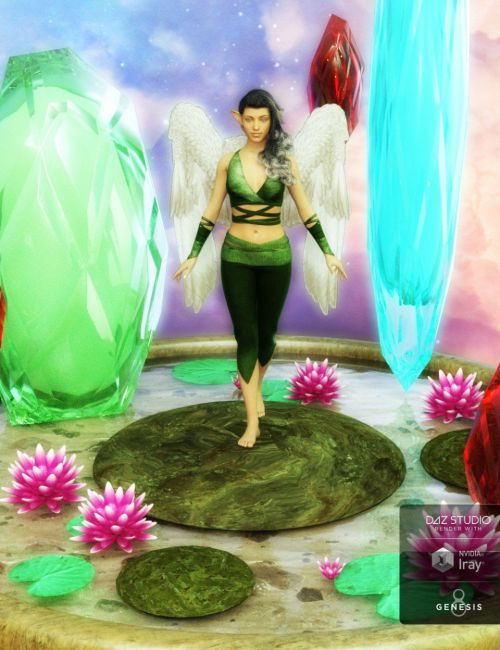 My Fantasy Poses n Prop for Genesis 3 and 8 Female