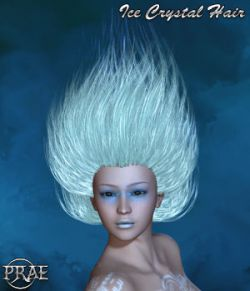 Prae-Ice Crystal Hair For Poser