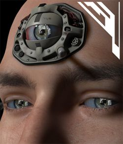3rd Eye Implant for Poser and DS