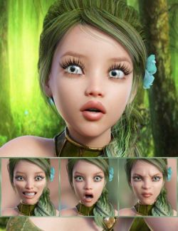 Fairytale- Expressions for Genesis 8 Female and Rynne 8