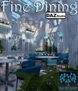 Fine Dining for Daz Studio
