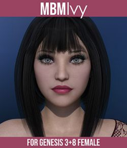 MbM Ivy for Genesis 3 & 8 Female