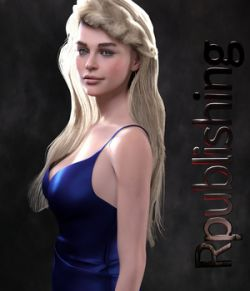 Braided Bombshell for Genesis 8 Female
