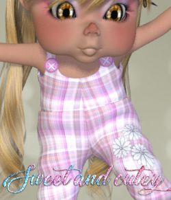 DA-Sweet and cutey for Kit or Peepot Overalls-1