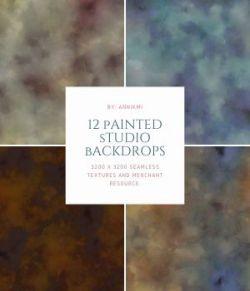 12 Painted Studio Backdrops
