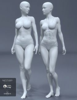 HD Body Shapes for Genesis 8 Female