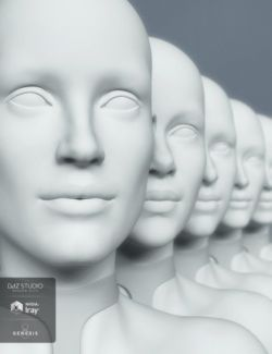HD Head Morphs for Genesis 8 Female