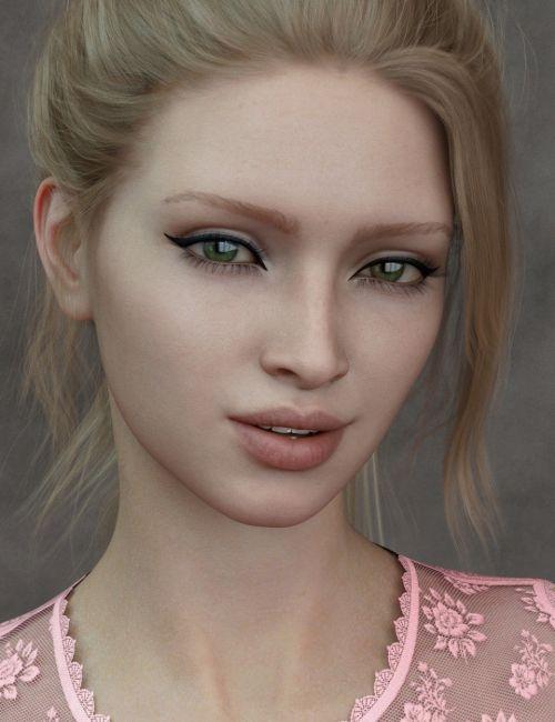 Raakel HD for Genesis 8 Female