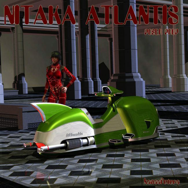 Nitaka Atlantis for Poser