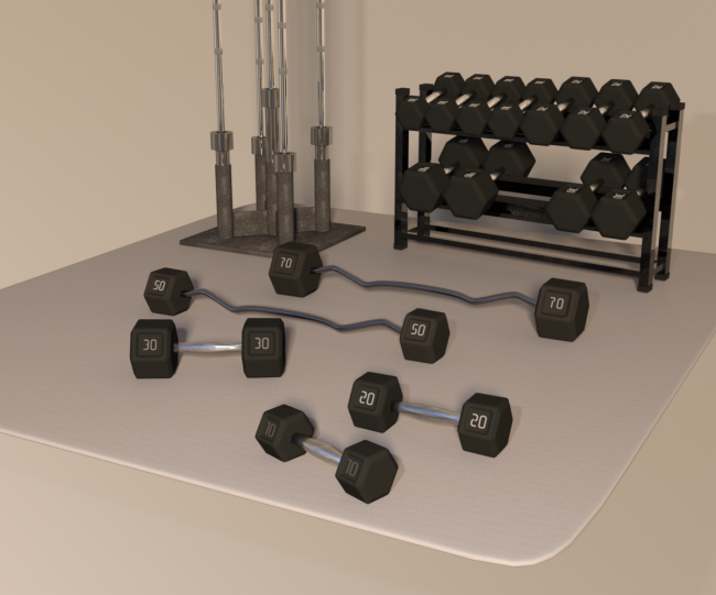 Swole: Free Weights for Genesis 3 and 8 Females
