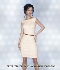 Antonia  for Genesis8 Female