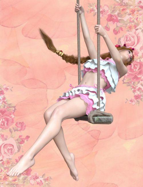 Swing Poses for Genesis 8 Female