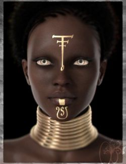 CB Ekua HD for Genesis 8 Female