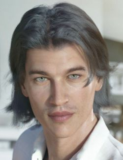 dForce Greyson Hair for Genesis 8