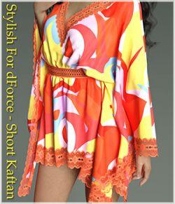 Stylish For dForce - Short Kaftan