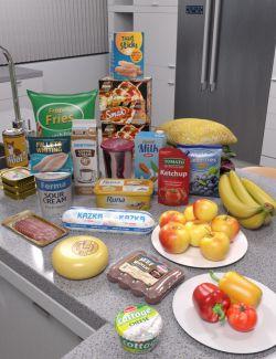 Modern House 2 Kitchen Food