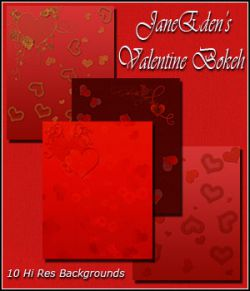 JaneEden's Valentine Bokeh