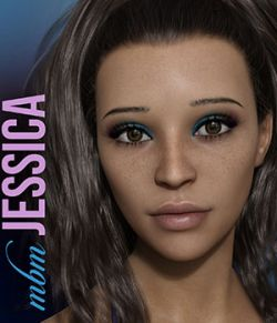 MbM Jessica for Genesis 3 and 8 Female