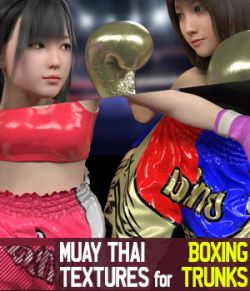 Muay Thai Textures for Boxing Trunks