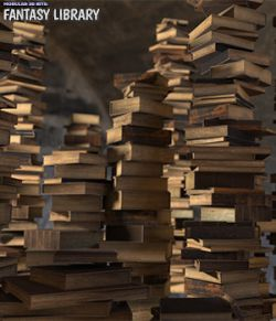 Modular 3D Kits: Fantasy Library
