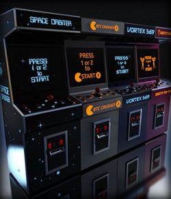 80s ARCADE Machine Model A