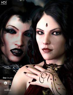 Qabbalah HD for Genesis 8 Female