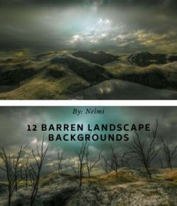 12 Barren Landscape Backgrounds