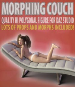 Morphing Couch for Daz Studio