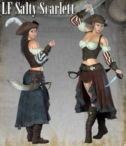 RP Salty Scarlett for La Femme and Poser Pro 11