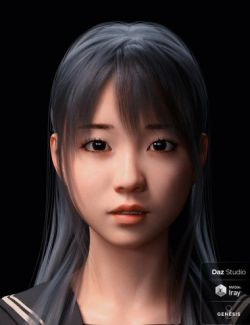 Sue Character and Hair for Genesis 8 Female