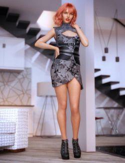 dForce Lilia Clothing Set for Genesis 8 Female(s)