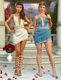 dForce Lilia Clothing Set Textures