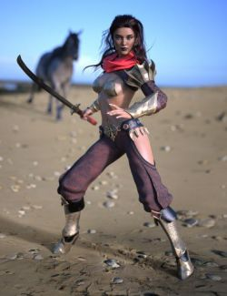 Eastern Warrior for Genesis 8 Female(s)