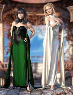 dForce Fantasy Cape Outfit Textures