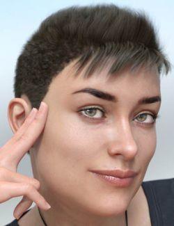 Teagan Hair for Genesis 8 and Genesis 3 Female(s)