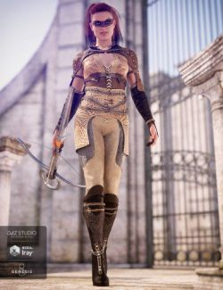 Blood Oath Outfit for Genesis 8 Female(s)