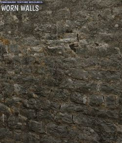 Panoramic Texture Resource: Worn Walls