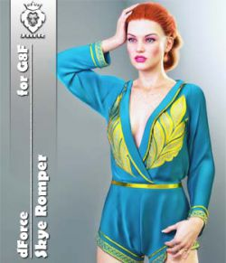 JMR dForce Skye Romper for G8F