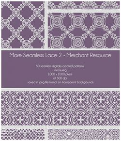 More Seamless Lace 2 - Merchant Resource