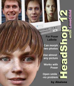 HeadShop 12 for Poser La Femme