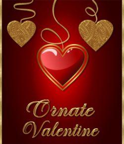 Ornate Valentine Seamless Textures