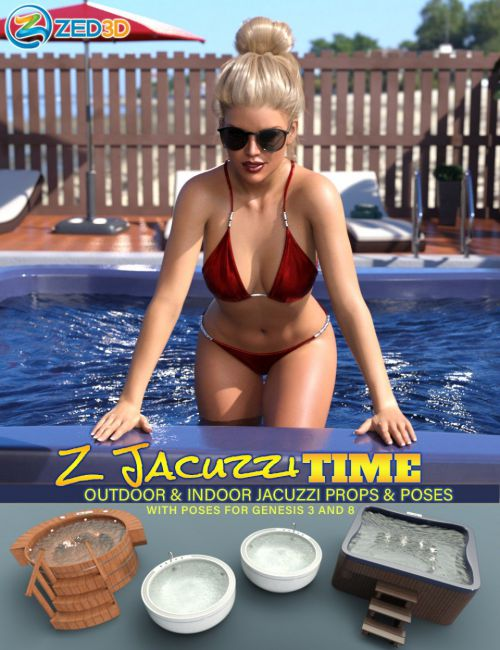 Z Jacuzzi Time and Poses