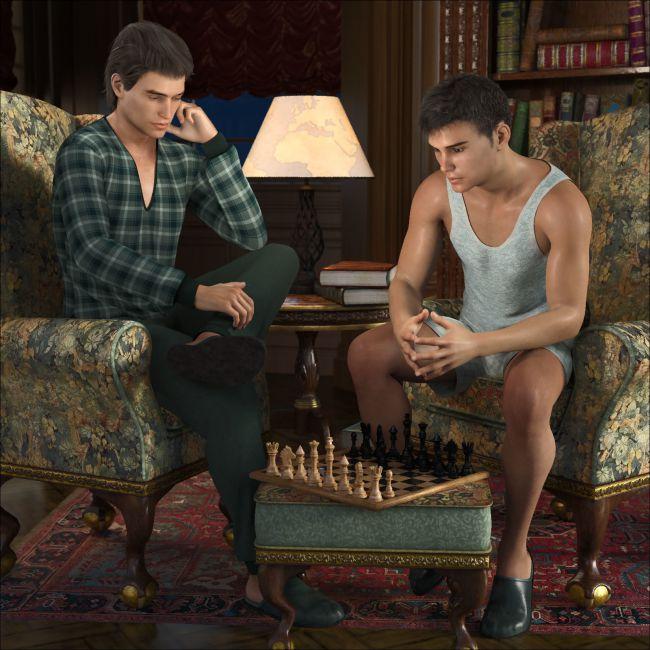Comfy PJs for Genesis 8 Males